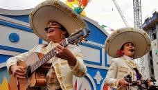 Queen Of Hoxton Rooftop Press Party : Las Mexicanas